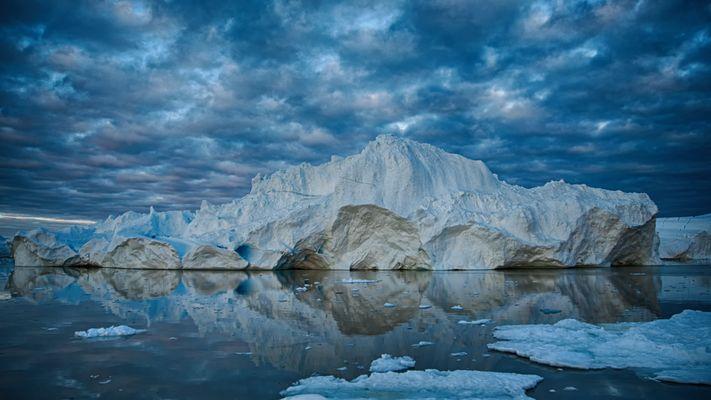 Eisberg vor Ilulissat