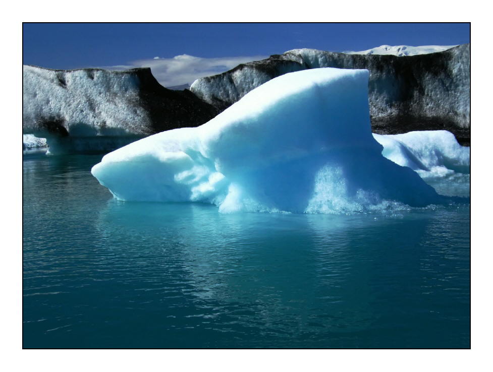 Eisberg voraus!