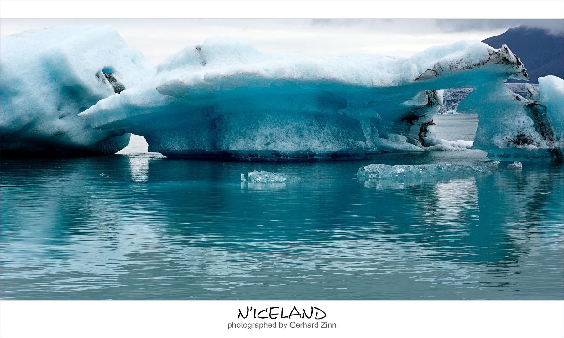 Eisberge am Jökulsarlon
