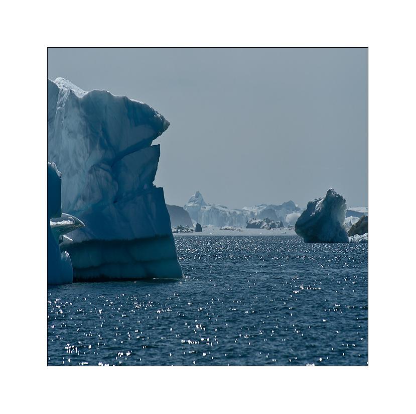 eisberge, eisberge und nochmal eisberge