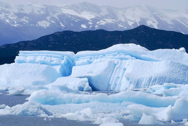 Eisberge im Lago Argentino