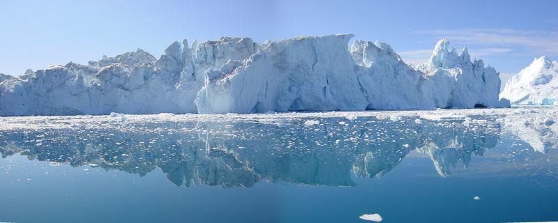 Eisberge im Wandel