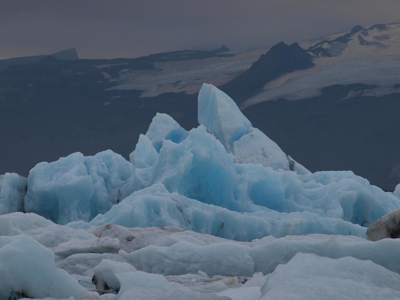 Eisberge in derGletscherlagune