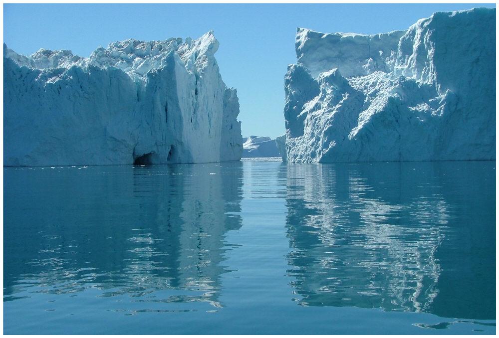 Eisberge in Ilulissat
