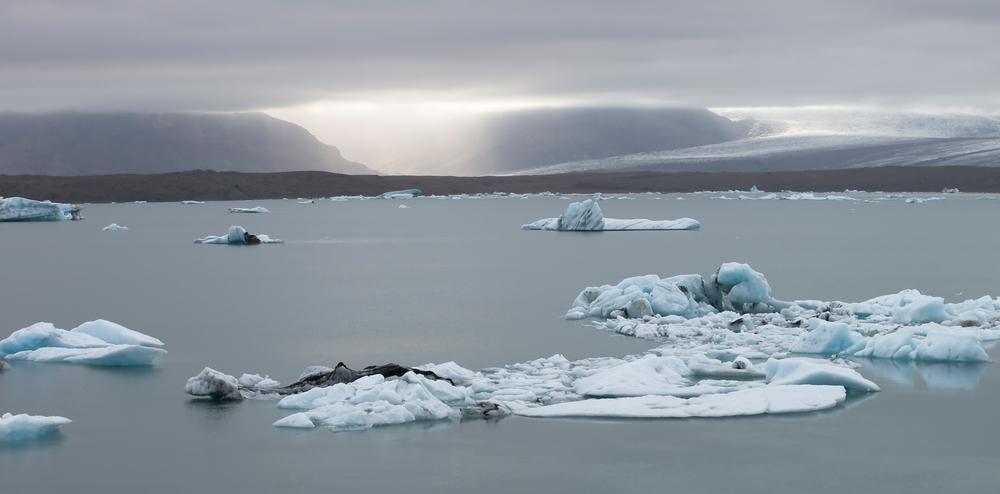 Eisbergstilleben am Jökulsarlon