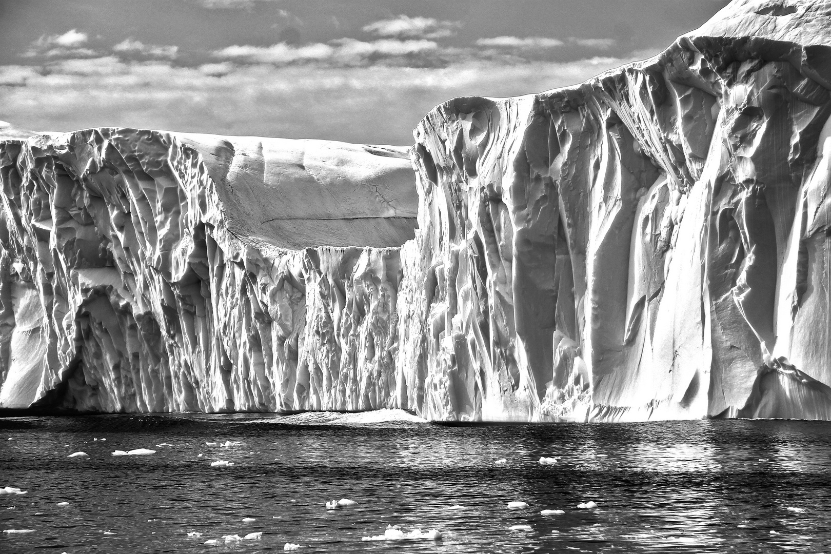 Eisbergwand sw