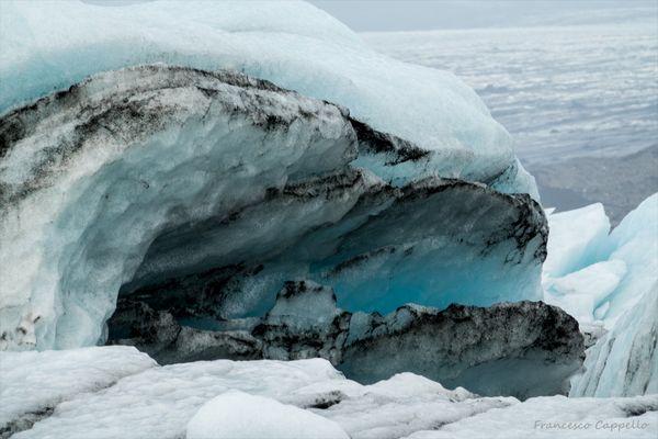 Eisblöche in der Gletscherlagune (3)