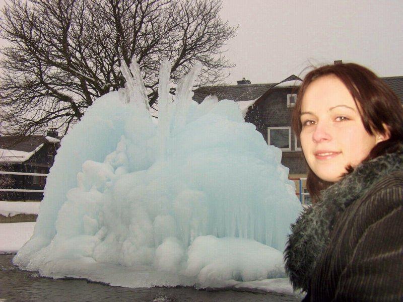 Eisbrunnen - Die Architektur der Natur