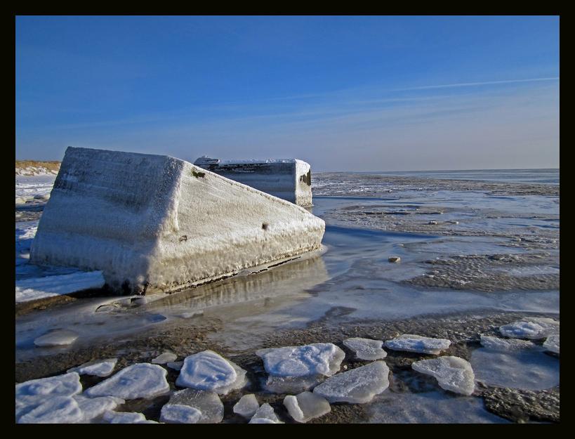 Eisbunker in Blavand