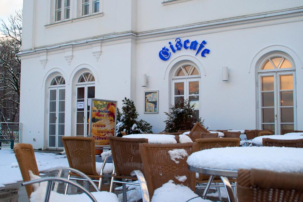 Eiscafe in Heiligendamm