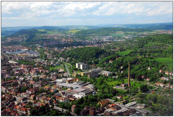 Eisenach Luftansicht