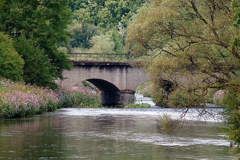 Eisenbahn - Brücke