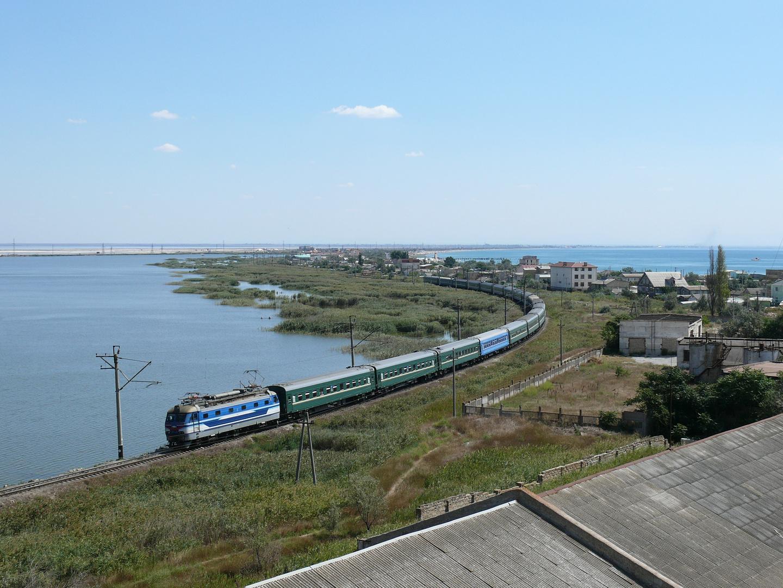 Eisenbahn in Jewpatorija/Krim