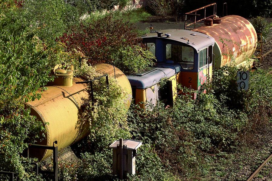 Eisenbahn-Romantik oder Symbol für eine zu Ende gehende Epoche?