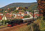 Eisenbahn- und Burgenromantik