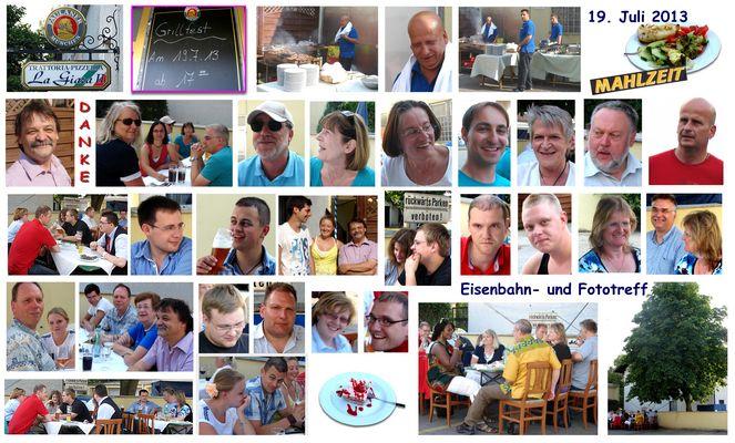 Eisenbahn- und Fototreff - Sommer 2013
