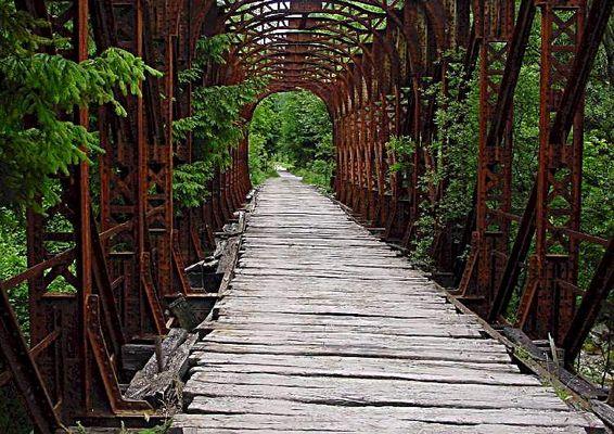 Eisenbahnbrücke aD in Slowenien