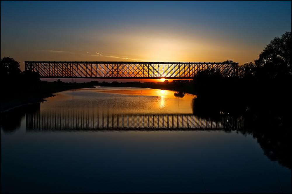 ~ Eisenbahnbrücke Altrhein ~