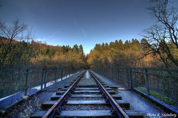 Eisenbahnbrücke bei Radevormwald-Wilhelmstal