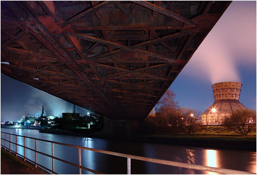 Eisenbahnbrücke - Datteln