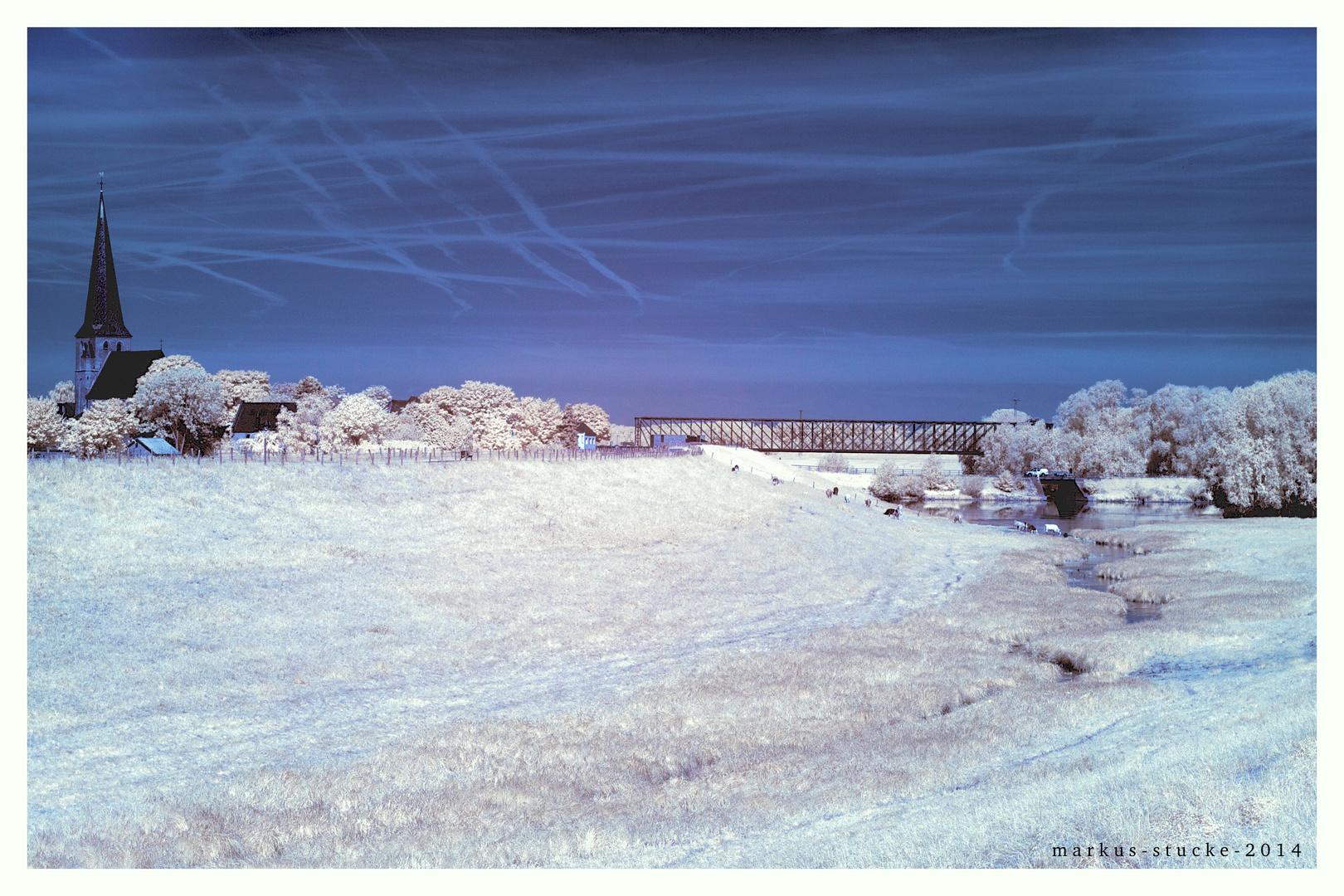 Eisenbahnbrücke Griethausen
