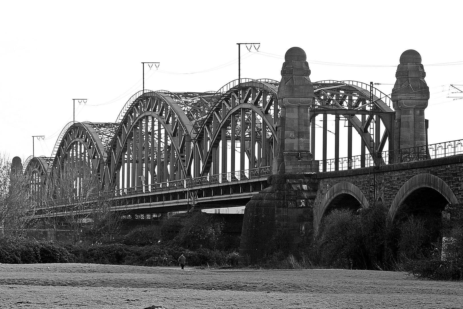 Eisenbahnbrücke Hochheim