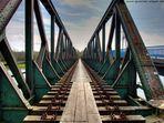 Eisenbahnbrücke in Bochum Dahlhausen über die Ruhr