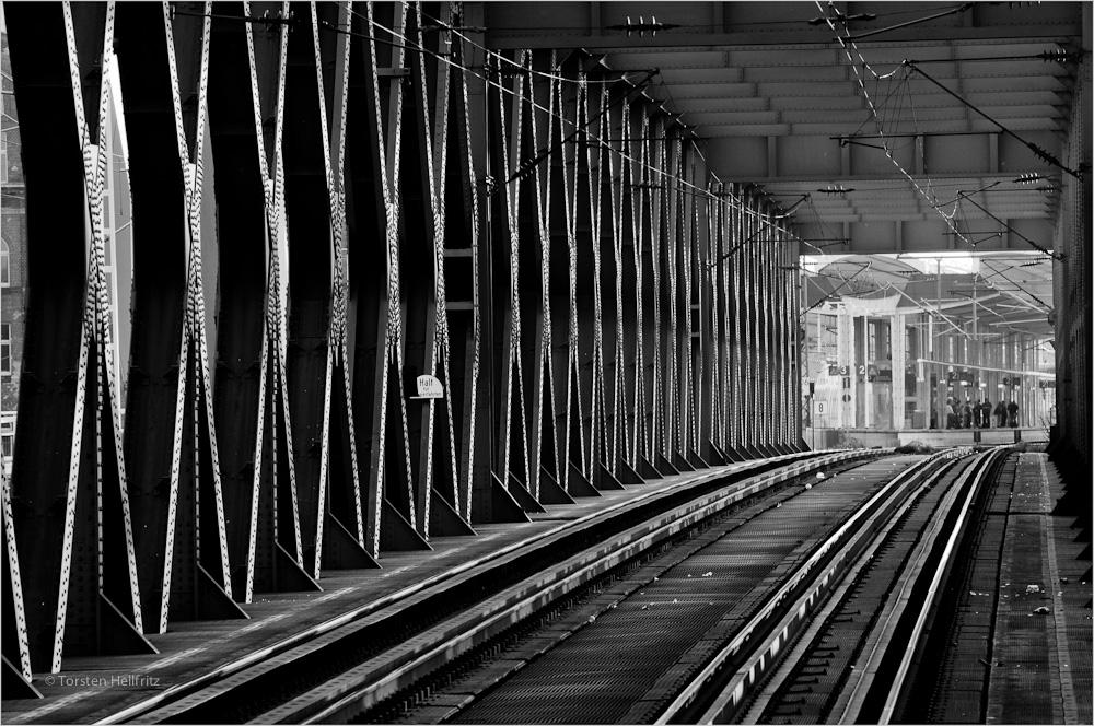 Eisenbahnbrücke    Mannheim - Ludwigshafen