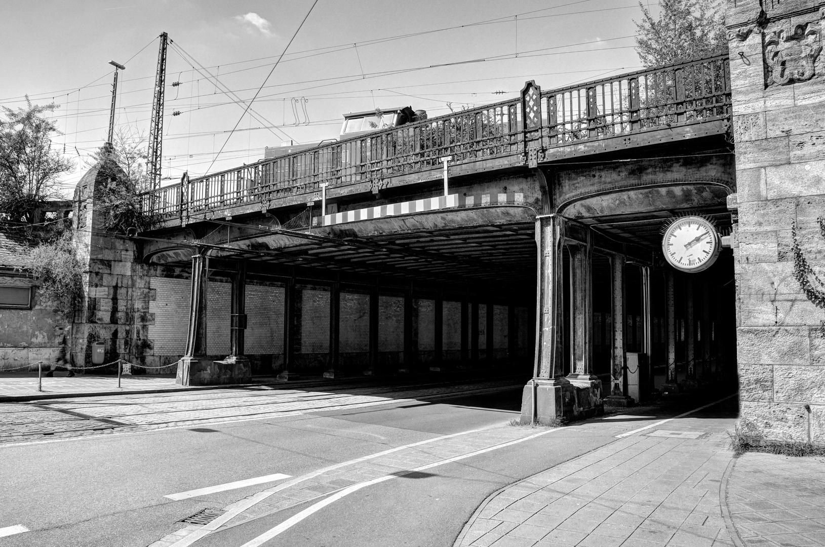Eisenbahnbrücke Nürnberg