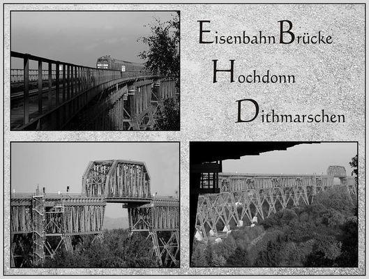 Eisenbahnbrücke über den NOK