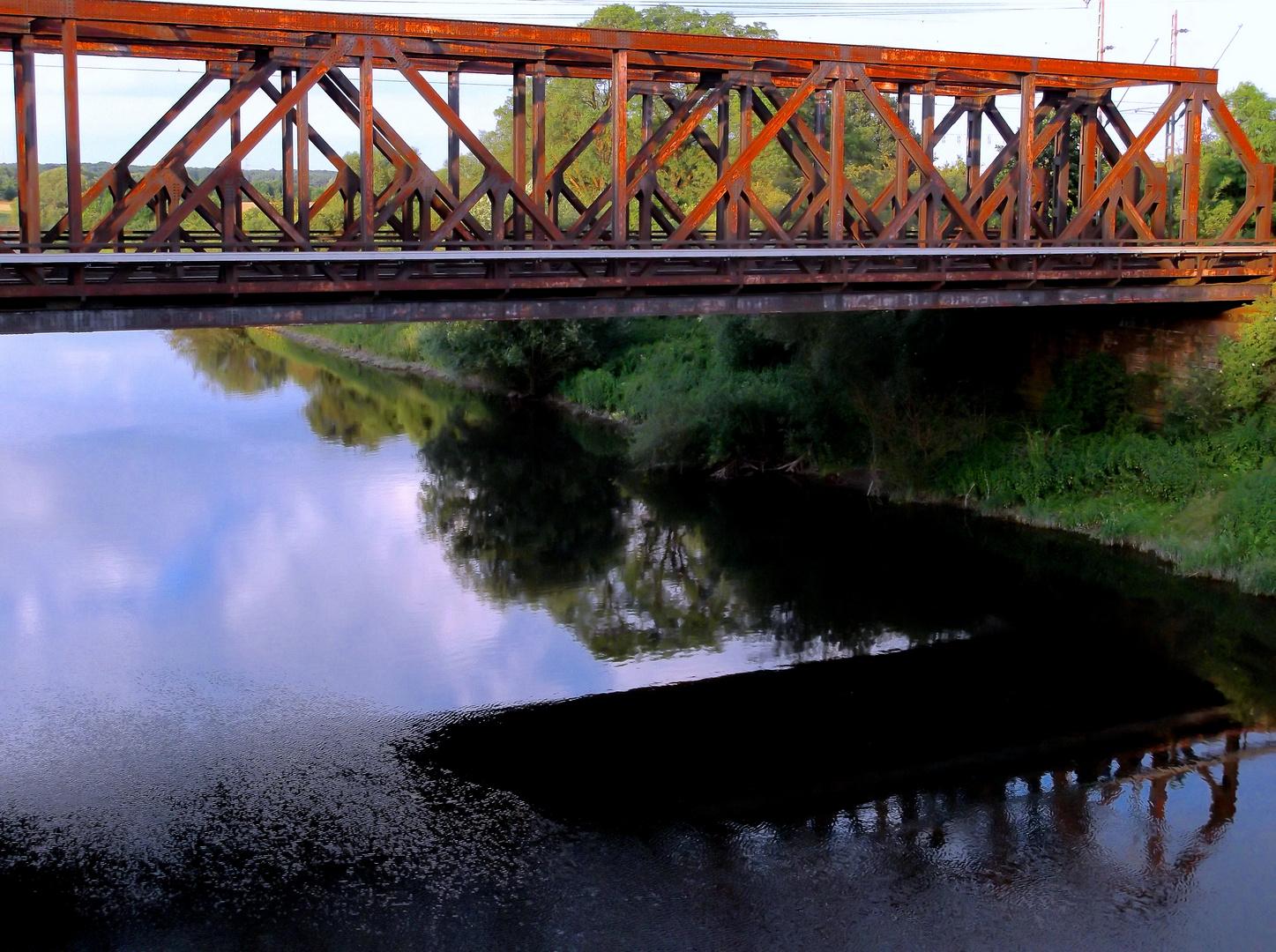 Eisenbahnbrücke über die Lippe