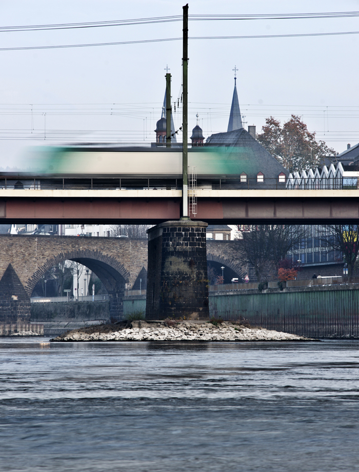 Eisenbahnbrücke über die Mosel