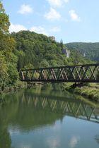 Eisenbahnbrücke über die obere Donau