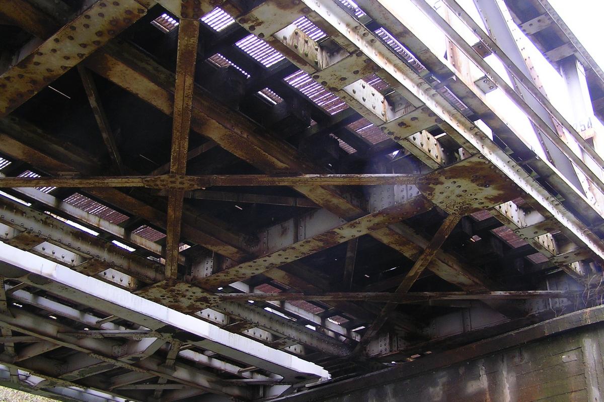 Eisenbahnbrücke über die Warthe