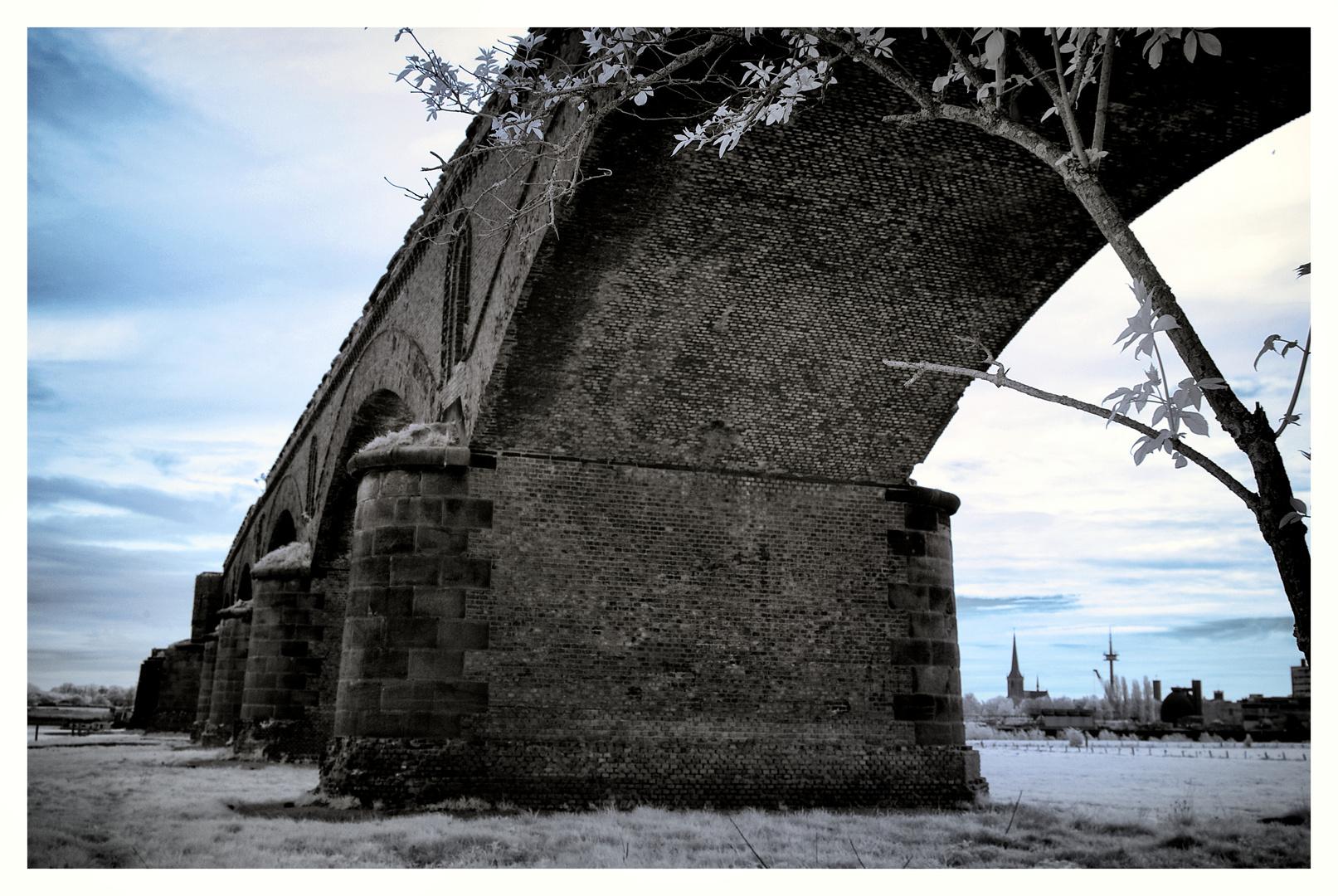 Eisenbahnbrücke Wesel