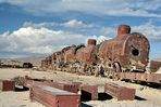Eisenbahnfriedhof in der Nähe von Uyuni (Bolivien)1