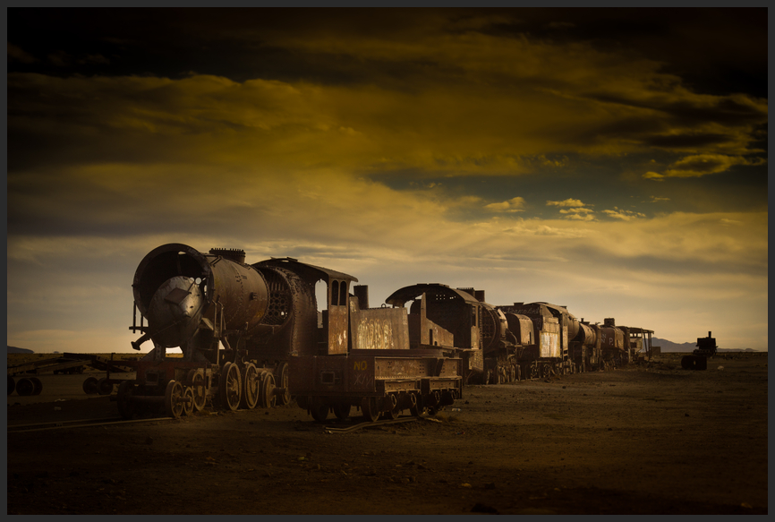 Eisenbahnfriedhof Uyuni (Bolivien)