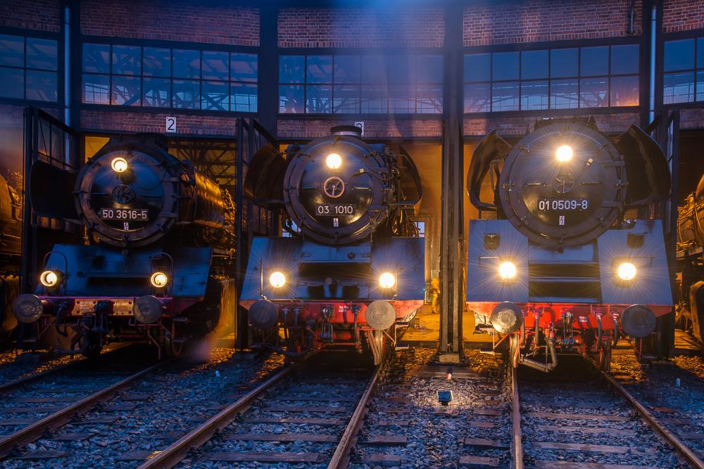 Eisenbahnmuseum Dresden zum Dampfloktreffen 2013