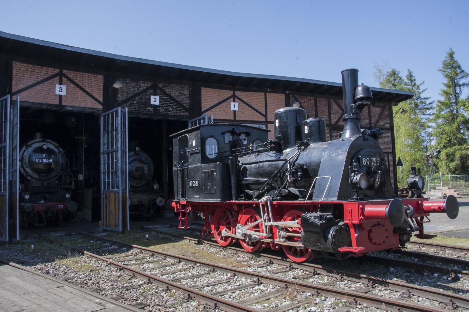 Eisenbahnmuseum Heilbronn Bj 1898
