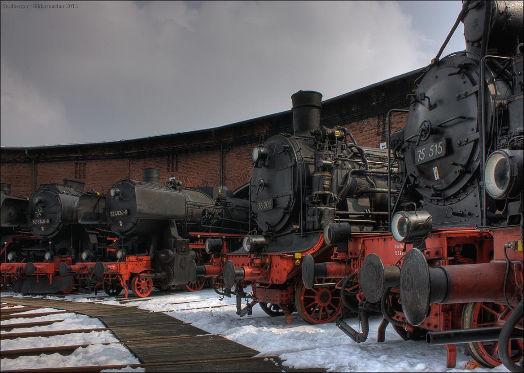 Eisenbahnmuseum Hilbersdorf # 2