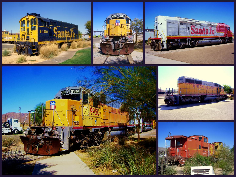 Eisenbahnmuseum in Barstow / Kalifornien