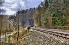 Eisenbahnromantik im Pegnitztal