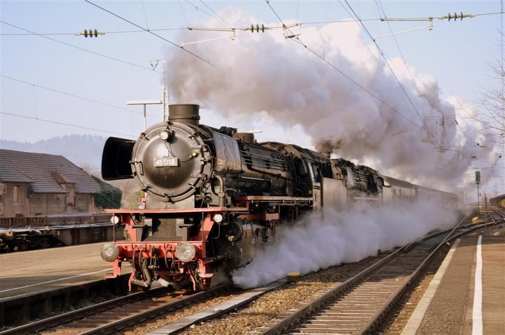 Eisenbahnromantik im Schwarzwald