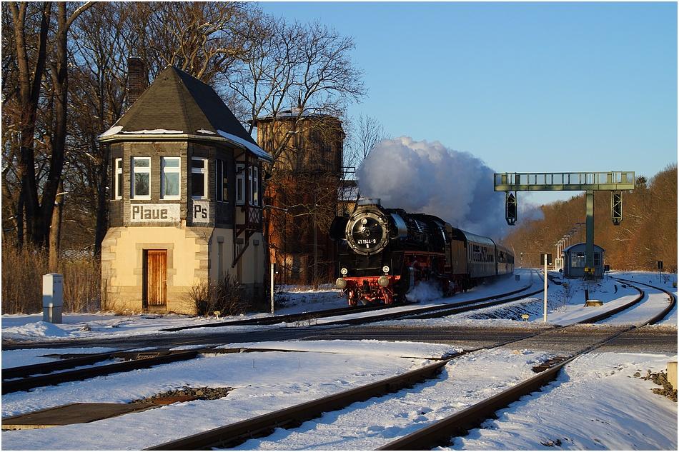 Eisenbahnromantik in Plaue