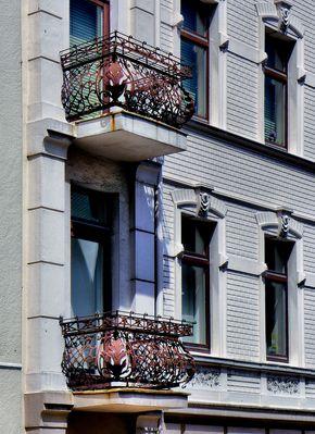 Eiserne Balkone