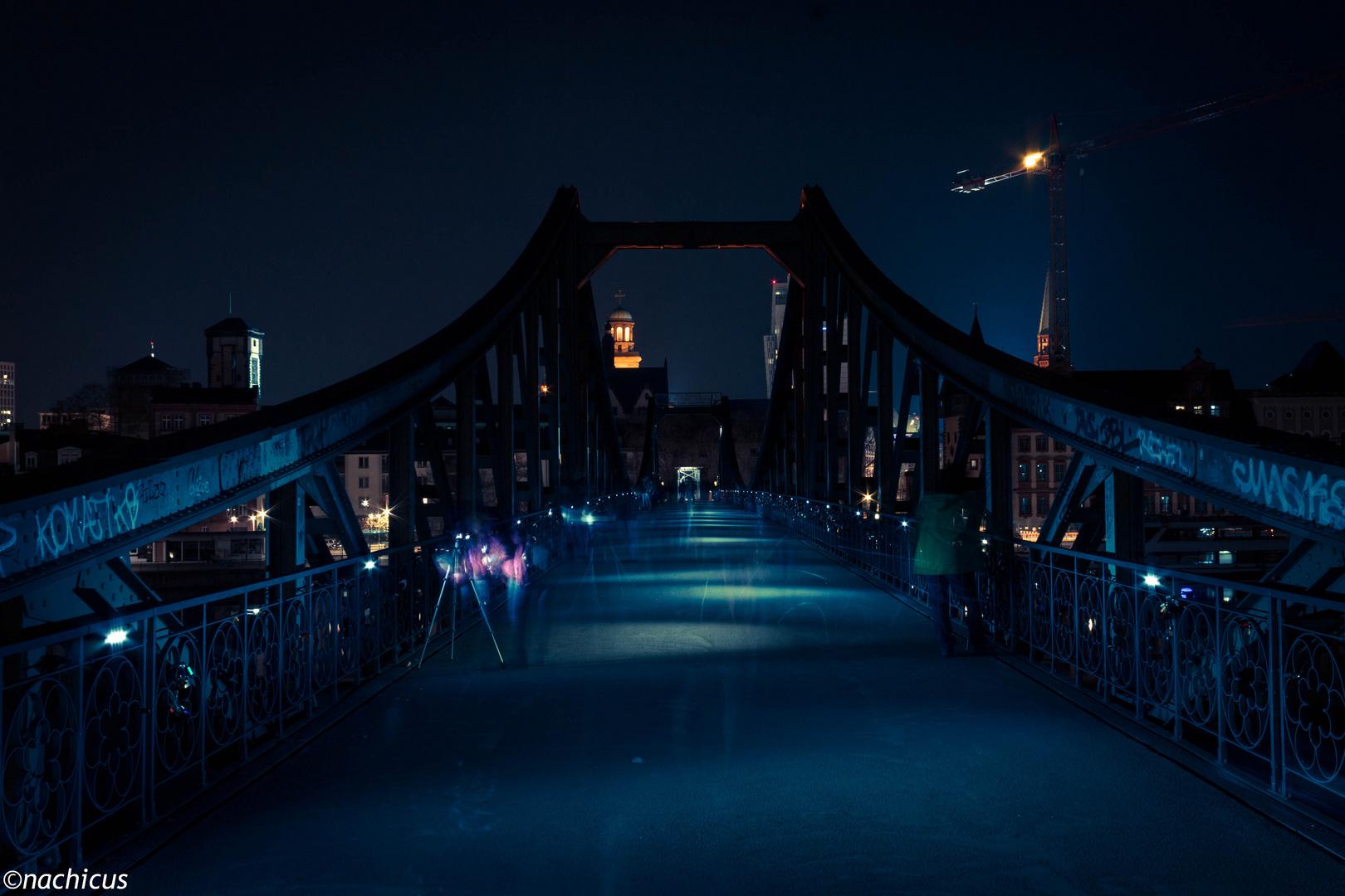 Eiserner Steg by Midnight