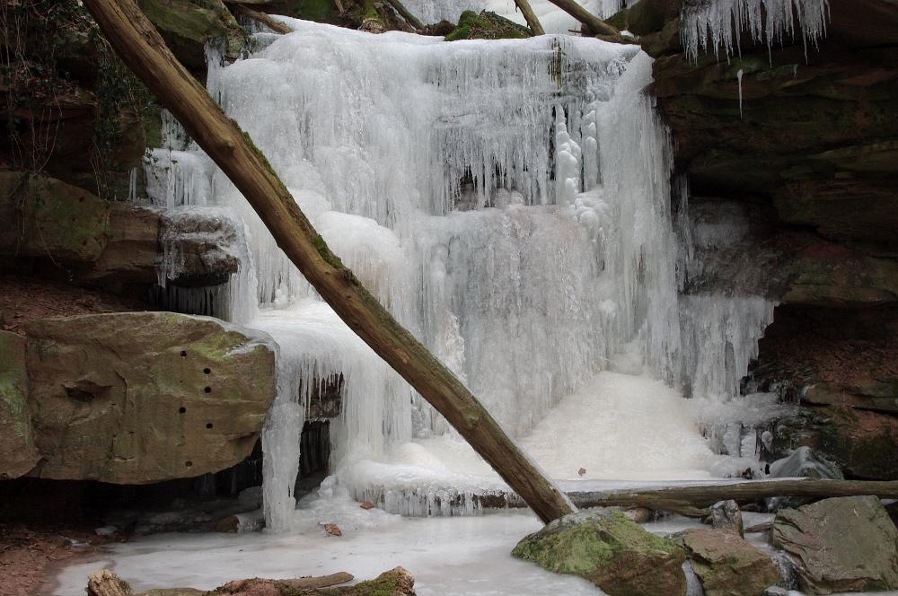 Eisfall Margarethenschlucht