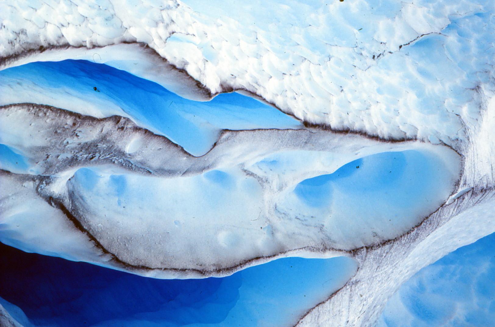 Eisgletscher in Nordnorwegen auf den fjell