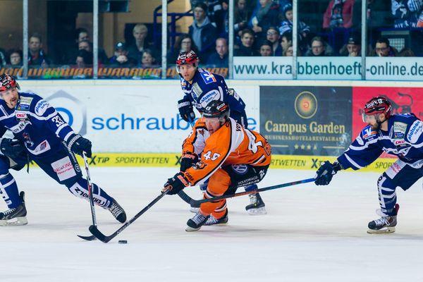 Eishockey - DEL - Iserlohn Roosters - Grizzlys Wolfsburg 2/13