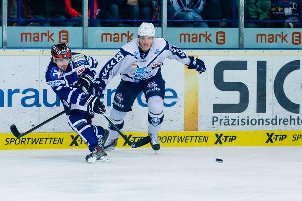 Eishockey - DEL - Iserlohn Roosters - Hamburg Freezers 1/2